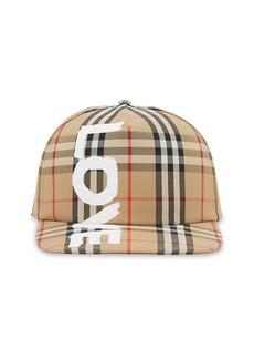 Burberry Love Archive Check Trucker Hat