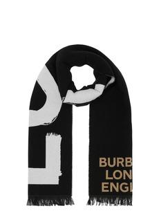 Burberry Love Organic Wool & Silk Scarf