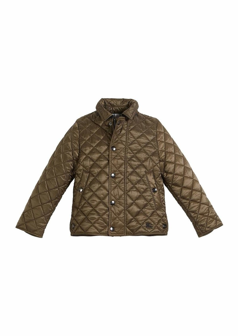 472d1c644 Burberry Lyle Quilted Snap Jacket   Outerwear