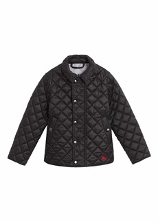 Burberry Lyle Quilted Snap Jacket