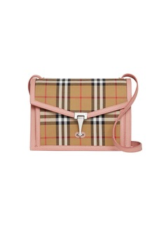 Burberry Macken Small Vintage Check Crossbody Bag
