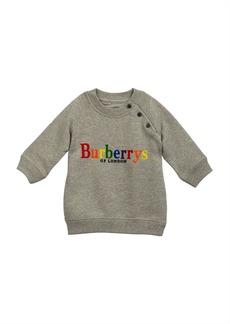 Burberry Mala Rainbow Logo Embroidery Sweatshirt