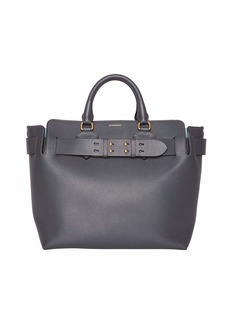 Burberry Marais Medium Leather Belted Tote Bag