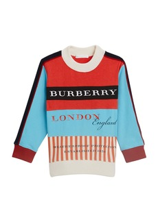 Burberry Marc Colorblock Logo Sweater