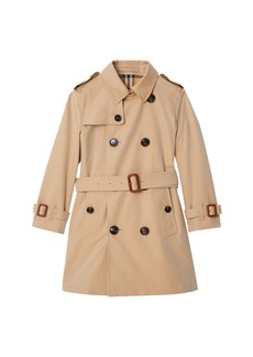 Burberry Mayfair Collared Trench Coat  Size 3-14