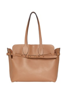 Burberry Medium Soft Belted Shoulder Tote Bag