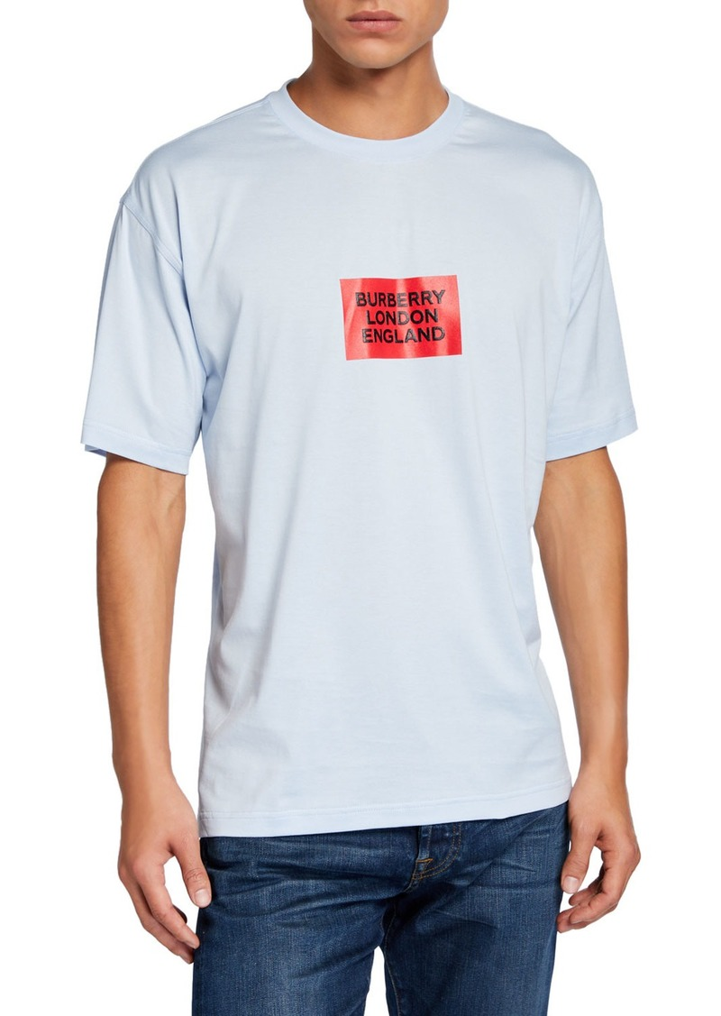 Burberry Men's Fenson Logo T-Shirt