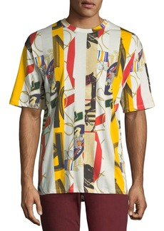 Burberry Men's Georgeston Graphic Cotton T-Shirt