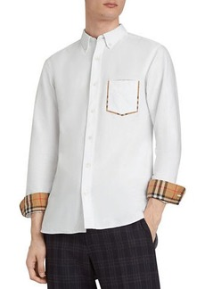 Burberry Men's Harry Check-Pocket Sport Shirt