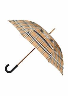 Burberry Men's Richmond Vintage Check Walking Umbrella