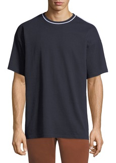 Burberry Men's Roedon Contrast-Trim T-Shirt