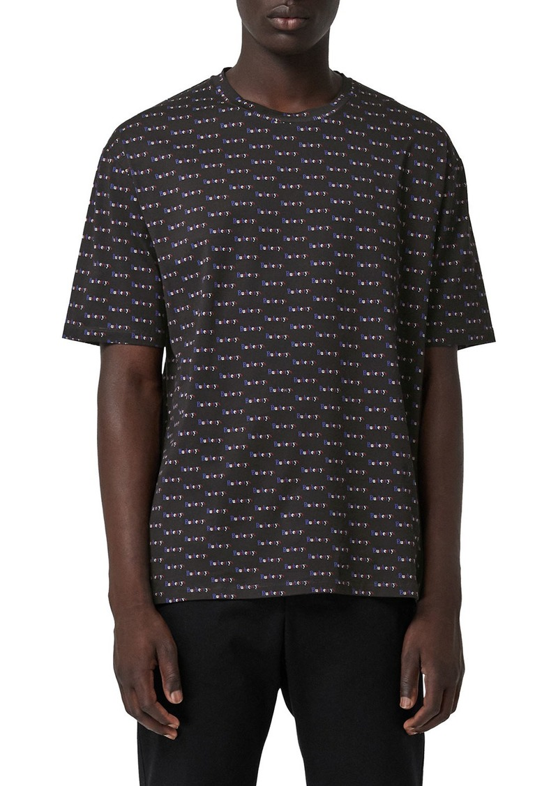 Sale Burberry Mens Ryford Archive Logo T Shirt