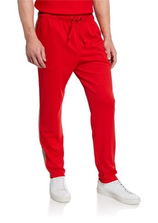 Burberry Men's Sorrento Drawstring-Waist Pants  Bright Red