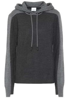Burberry Merino wool-blend hoodie