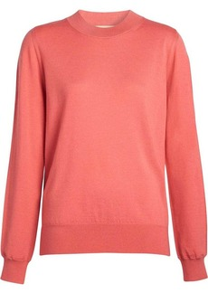 Burberry Merino Wool Crew Neck Sweater