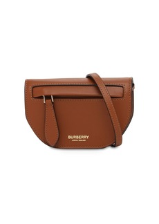 Burberry Micro Olympia Leather Shoulder Bag
