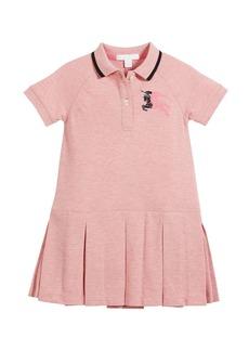Burberry Mini Molly Anna Logo Polo Dress