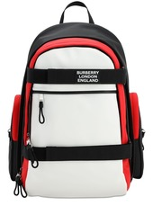 Burberry Mixed Tech Canvas Backpack