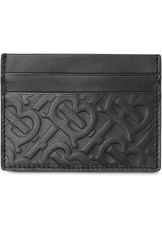 Burberry Monogram Leather Card Case