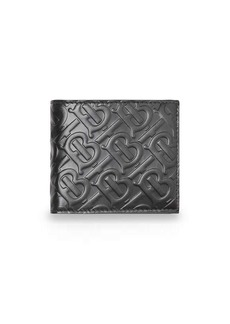 Burberry Monogram Leather International Bifold Coin Wallet