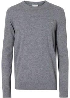 Burberry Monogram motif cashmere jumper