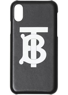 Burberry Monogram Motif Leather iPhone X/XS Case