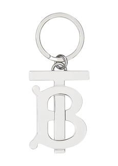 Burberry Monogram Motif Palladium-plated Key Ring