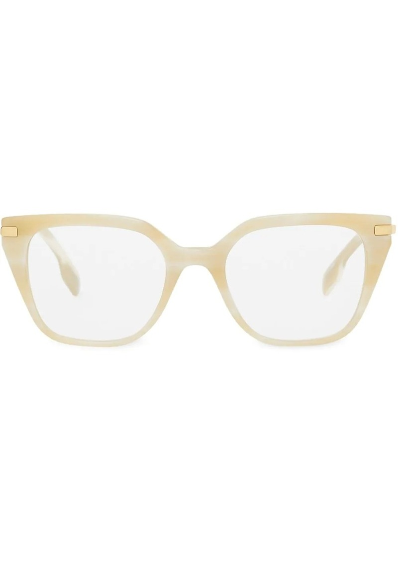 Burberry Monogram motif square optical glasses