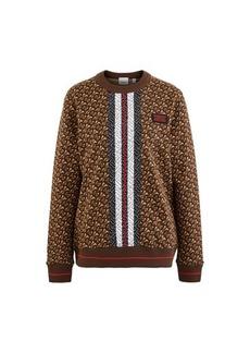 Burberry Monogram oversized sweatshirt