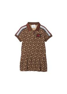 Burberry Monogram Polo Dress (Infant/Toddler)