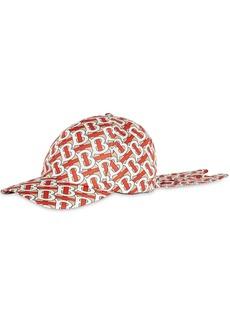 Burberry monogram-print baseball cap