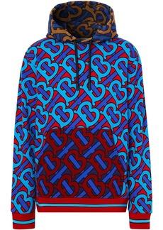 Burberry monogram-print hoodie