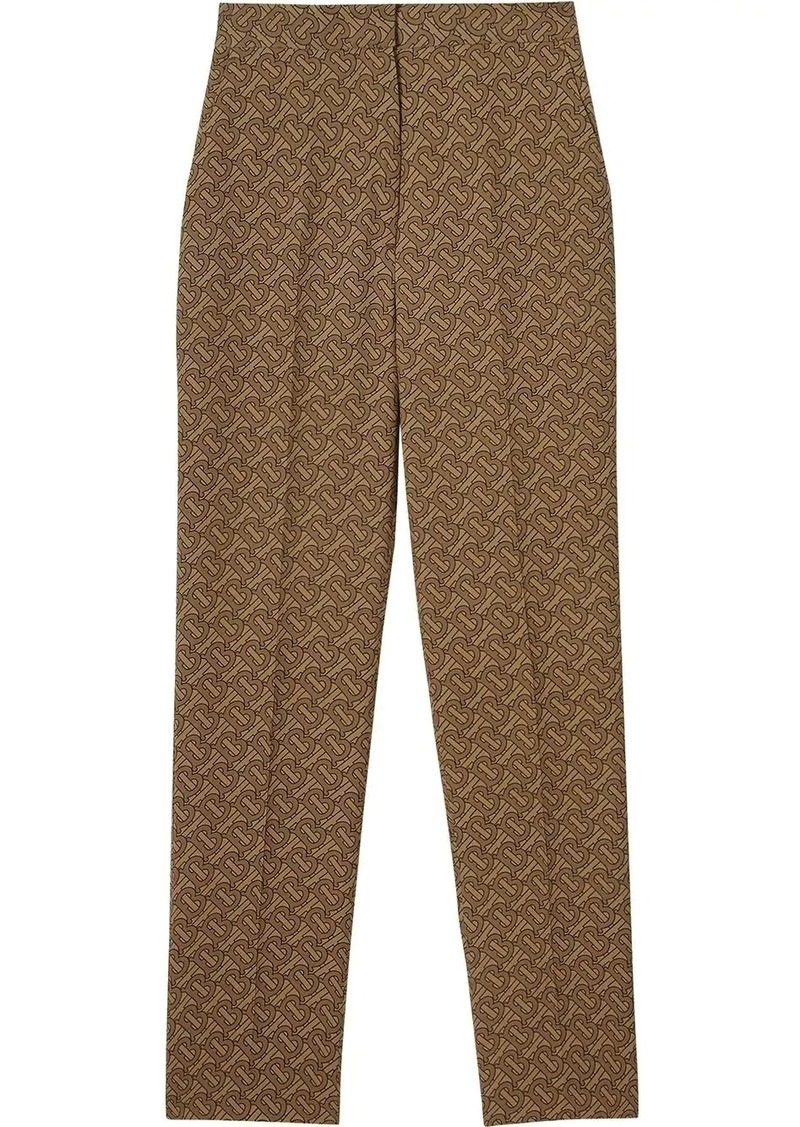 Burberry Monogram Print tailored trousers