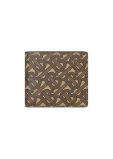Burberry monogram print wallet