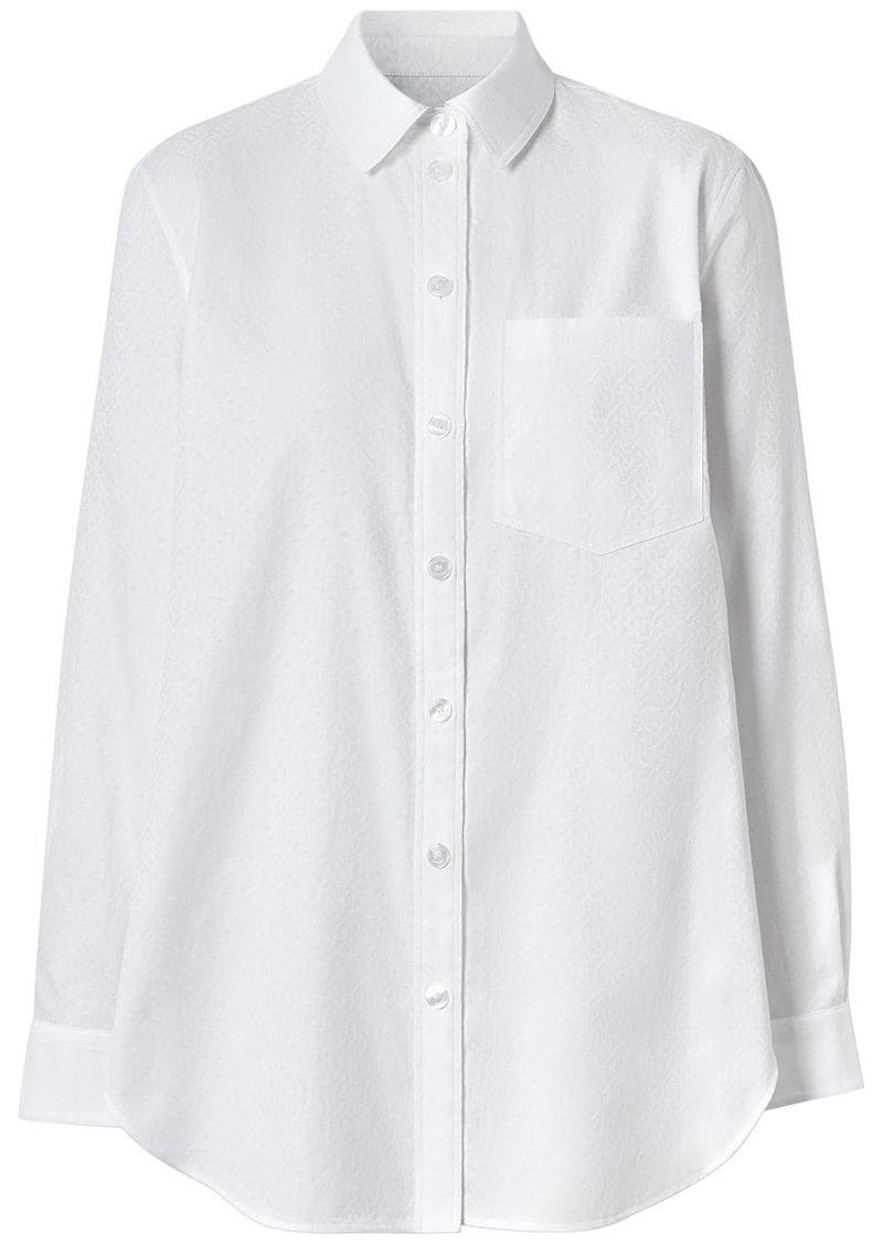 Burberry monogram shirt
