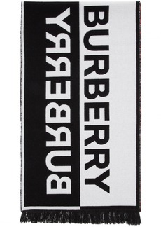 Burberry Multicolor Patchwork Football Scarf
