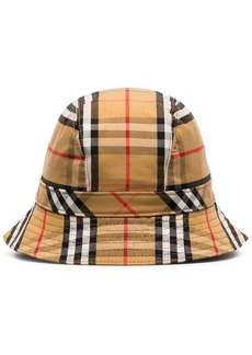 Burberry multicoloured vintage check cotton bucket hat