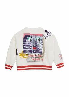 Burberry My Name graphic Sweatshirt