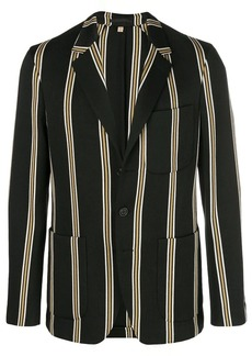 Burberry navy stripe blazer