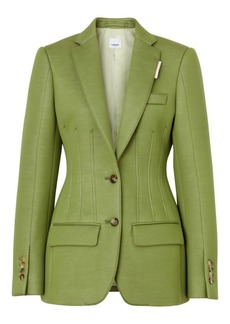 Burberry Neoprene Tailored Blazer