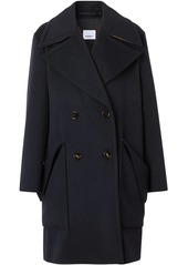 Burberry notched-lapels doublebreasted coat