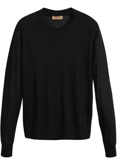 Burberry Open-stitch Detail Cashmere Sweater