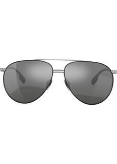 Burberry oversized aviator sunglasses