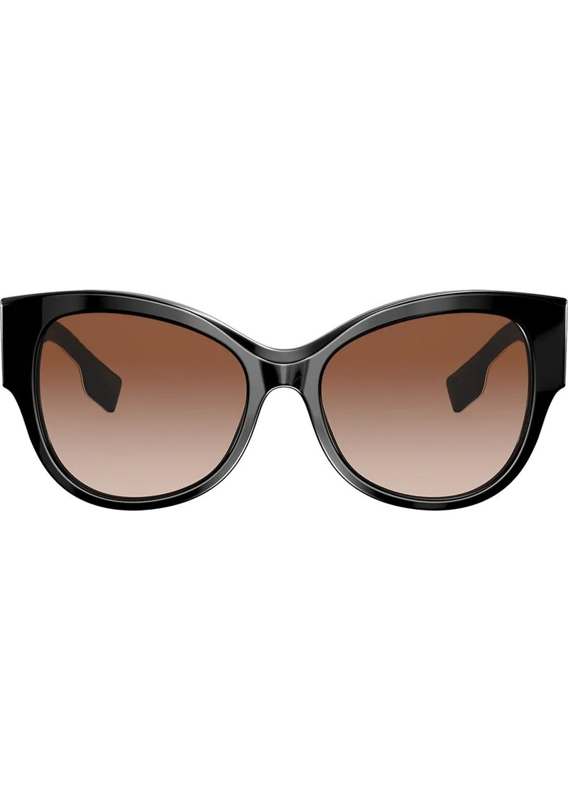 Burberry oversized frame sunglasses