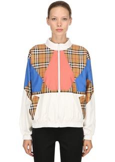 Burberry Oversized Nylon Track Jacket