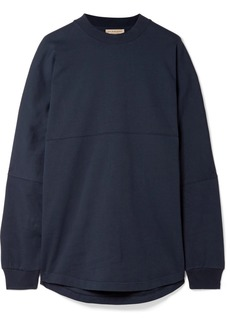 Burberry Oversized printed cotton-jersey sweatshirt