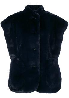 Burberry oversized sleeveless jacket