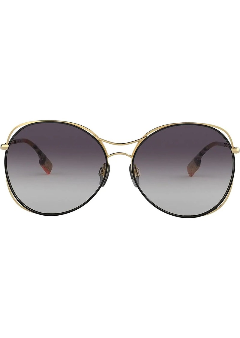 Burberry oversized sunglasses