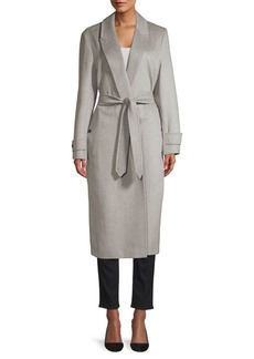 Burberry Oxshott Cashmere Wrap Trench Coat