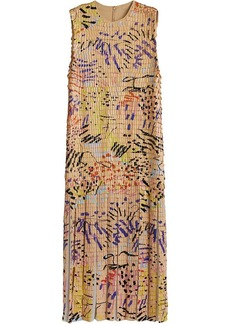 Burberry Painted Paillette Sleeveless Dress